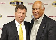 Me with Jim Palmer at Dream Business Academy