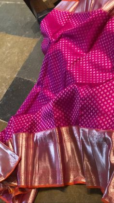 Saree Blouse Neck Designs, Fancy Blouse Designs, Bridal Blouse Designs, Indian Bridal Sarees, Bridal Silk Saree, Saree Dress, Sari, Kanjivaram Sarees Silk, Wedding Saree Collection