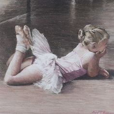 Girl's Nursery Art Little ballerina signed limited edition giclee ballet print from pastel drawing. Vintage Ballerina, Little Ballerina, Ballerina Birthday, Ballet Art, Ballet Dancers, Ballerina Painting, Dancing Drawings, Ballet Images, Pretty Ballerinas