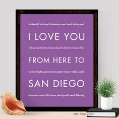 From Mission Hills to Mission Valley, San Diego has lots to love. Give a gift for someone missing the beautiful blue skies, lovely beaches or incredible restaurants in San Diego. small text: bankers h