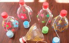 Brinquedos Reciclados Pedagógicos Passo a Passo   Espaço Infantil