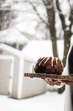 Winter Chocolate Bun