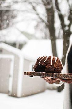 Winter Chocolate Bun