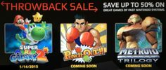 Nintendo Wii games available now on Wii U eShop!