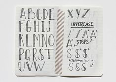Besottment French Press Lettering Tutorial