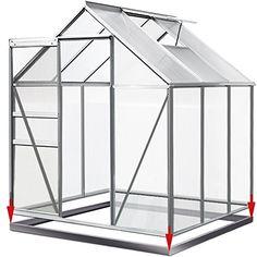 Beschreibung: Hochwertiges und stabiles Gewächshaus mit Dachfenster, bestehend aus eloxierten Aluminiumprofilen und wärmedämmenden Hohlkammerstegscheiben. Das klappbare, praktische Dachfenster, sorgt für die richtige Luftzirkulation. Die Regenrinne lenkt den Regenfluss seitlich am Gewächshaus nach unten. So können Sie das Regenwasser mit entsprechenden Behältnissen direkt abfangen und nutzen. Produktvorteile: – mit großer Schiebetür und Dachfenster (Lüftungsfenster) – kittloses …