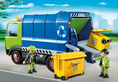 Camion de recyclage ordures - 6110 - PLAYMOBIL® France