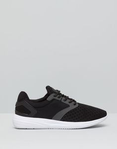 :SPORT SHOES WITH MESH DETAIL