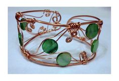 ADAEZE Bracelet from the  Whimsical by majesticwireartworks, $35.00