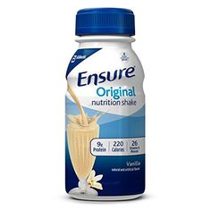 Ensure Regular Nutrition Shake, Vanilla, 8-Ounce, 16 Count by Ensure -- Awesome products selected by Anna Churchill