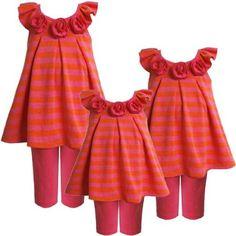 Size-18M,BNJ-9235M 2-Piece FUCHSIA-PINK ORANGE « Clothing Impulse