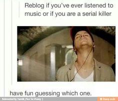 Serial killer lol jk