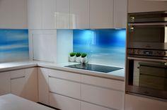 VIVANT GLASS   Digitally printed glass splashback