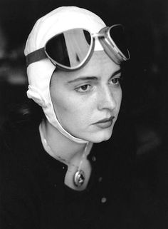 Jinx in goggles, 1951 Florence, Italy Ruth Orkin Photography