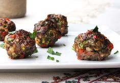 Italian Meatballs from our newsletter -- loaded with veggies! Makes a bunch, and they're great on any phase (they freeze well, too)