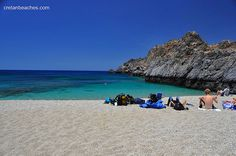 Schinaria beach by Plakias, Crete Crete Island, Greece Islands, Turquoise Water, Tuscany, Beautiful Places, Spain, Places To Visit, Travel Things, In This Moment