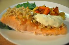 Mustard Crusted Salmon For The Toaster Oven) Recipe - Food.com