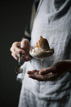 'biancomangiare' an almond milk pudding