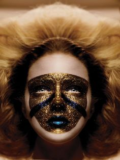 Tush Magazine, Make-up by Rae Morris Fashion Editorial Makeup, High Fashion Makeup, Editorial Hair, Fashion Face, Tush Magazine, Beauty Makeup, Eye Makeup, Rae Morris, Glitter Face
