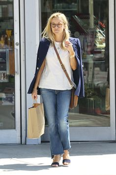 7 Ways to Pull Off It-Girl Jeans When You're Not 22 Anymore via @WhoWhatWear