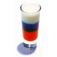 4th of july 3 layer drink