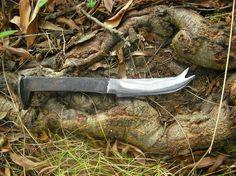 Railroad  Spike  Cheese knife