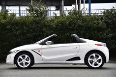 PHOTO 04: Car: HONDA: S660: (Continuation) HONDA S660 (Prototype) test drive was held at Sodegaura Forest Raceway. Photo from Japan car media Web CG. (http://www.webcg.net/articles/-/32299?ph=4)