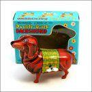 dachshund japan | Yoneya / Yone Double Quick Dachshund, Japan. Vintage Tin Plate Toy