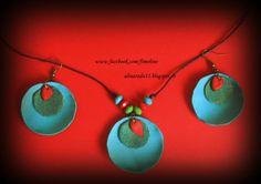 . Washer Necklace, Drop Earrings, Jewelry, Jewlery, Jewerly, Schmuck, Drop Earring, Jewels, Jewelery
