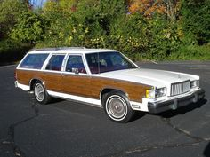 '83 Mercury Grand Marquis LS Colony Park Wagon