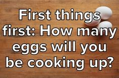 Cook Scrambled Eggs And We'll Reveal Your Best Quality