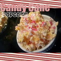 Candy Cane Popcorn! Great idea from @Matty Chuah Grant life