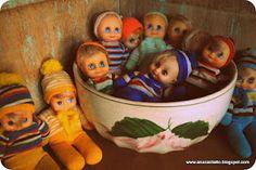 Coleção Boneca Minuche Década 80