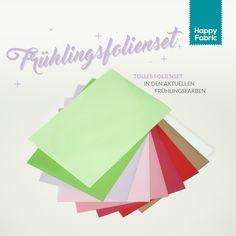 HappyFabric - Frühlingsfarben Folienset