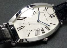 80-90's CARTIER PT950 Men's Cintree