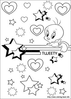 tweety bird coloring pages google search