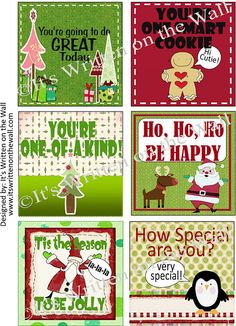 Lunchbox Notes  sc 1 st  Pinterest & Free Printable Christmas Lunch Box Notes from ThePolkaDotPosie ... Aboutintivar.Com
