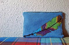 DIY: Tunisian Crochet   Cross Stitch