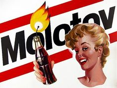 How to make a Molotov cocktail and a brief history of citizens making unconventional public statements of disapproval. Molotov Cocktail, Fight The Power, Protest Art, Political Art, Punk, Junior Year, Skinhead, Pop Culture, Pop Art