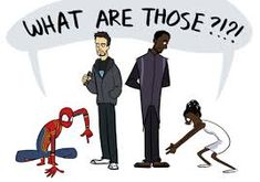 Image result for shuri and spiderman