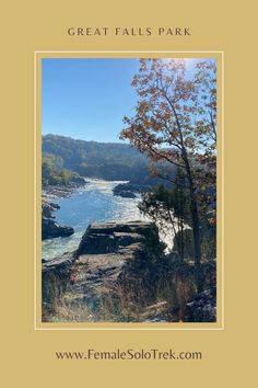 Great Falls Park, Virginia – FemaleSoloTrek