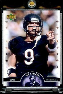 2005 Upper Deck Legends Jim McMahon Chicago BearsFootball Card #21 - Mint Condition - In Protective Display Case !! by Upper Deck. $4.95. This affordable card will make a fine addition to any collection. Please contact us if you have any questions or need to see a scan of this great card.