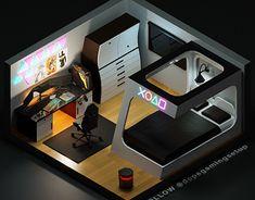 Buy your own games in Aviatorgaming store Best Gaming Setup, Gaming Room Setup, Pc Setup, Desk Setup, Cool Gaming Setups, Gamer Bedroom, Bedroom Games, Bedroom Setup, Bedroom Decor