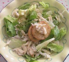 HCG Diet Phase 2 Recipe - Crab Salad with Honey Mustard Dressing