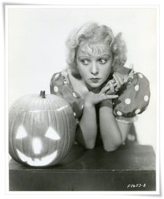 Ida Lupino Vintage Hollywood Halloween Pin-ups