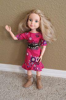 Costure Blessed: roupas usadas em roupas de bonecas