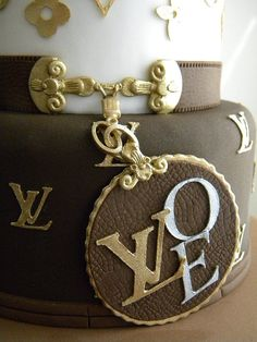 Bolo Louis Vuitton | Flickr: Intercambio de fotos