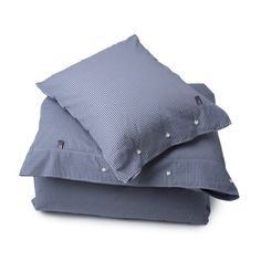 Lexington American Seaside Check Bed Linen Blue
