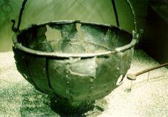 Riveted cauldron (Viking Ship Museum, Oslo)