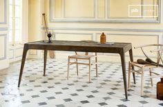 La mesa de madera Tabüto es una mesa de comedor nórdica que se puede usar en cualquier interior escandinavo.